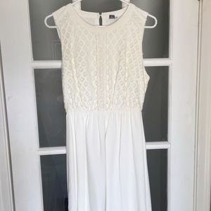 Boutique Ivory Dress